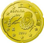 20 cents (other side, country Spain) 0.2